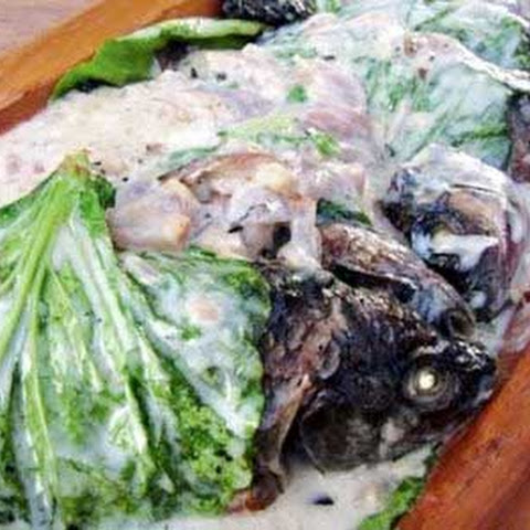 Sinugno - Grilled Tilapia in Coconut Milk
