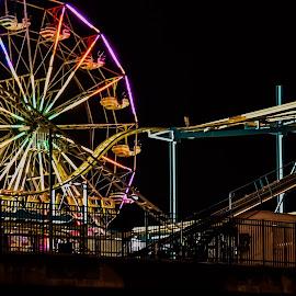 by Diane Ljungquist - City,  Street & Park  Amusement Parks