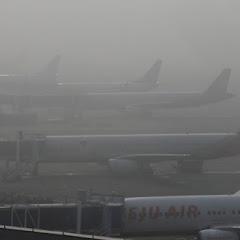 [중국소식]미세먼지로 인해 중국발 비행기 결항. 16일 이후 부터 순차적으로 운항재개