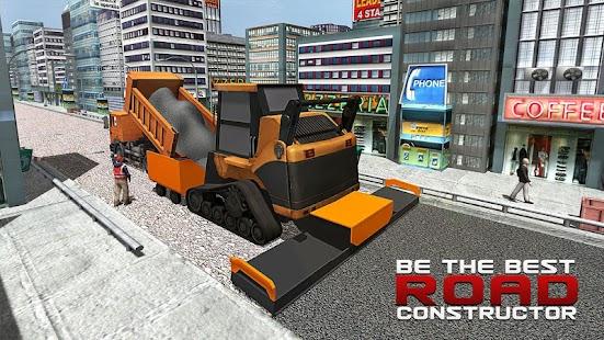City Builder Road Construction APK for Bluestacks