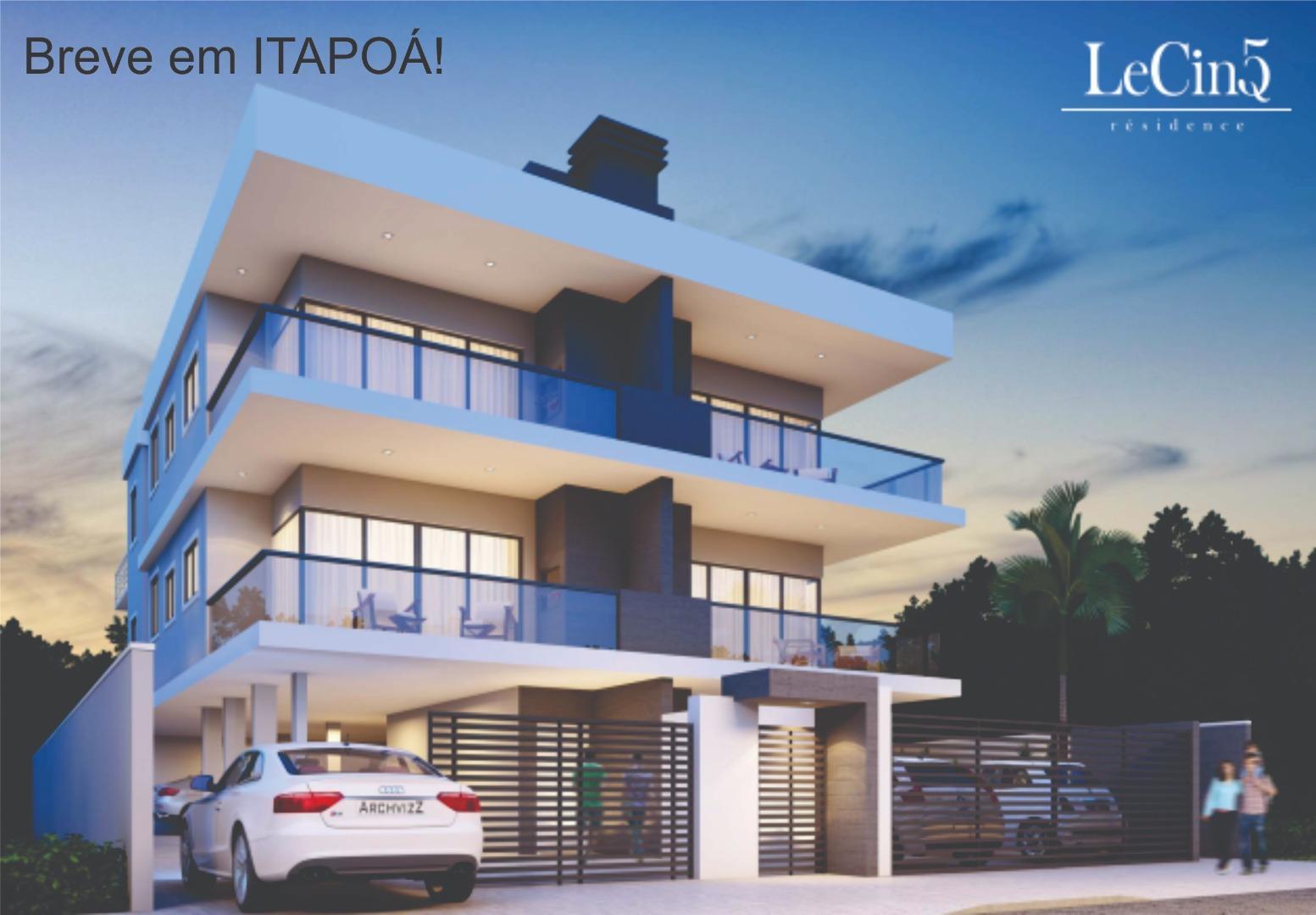 Apartamento com 3 dormitórios à venda, 91 m² por R$ 389.000,00 - Jardim da Barra - Itapoá/SC