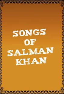Songs of Salman Khan - screenshot