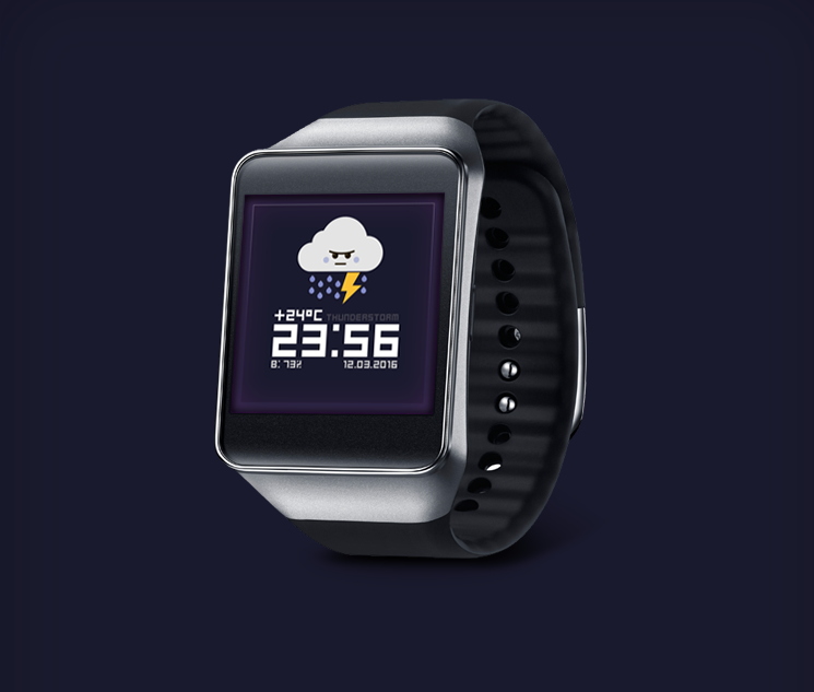 Watch Face: Weather Screenshot 6