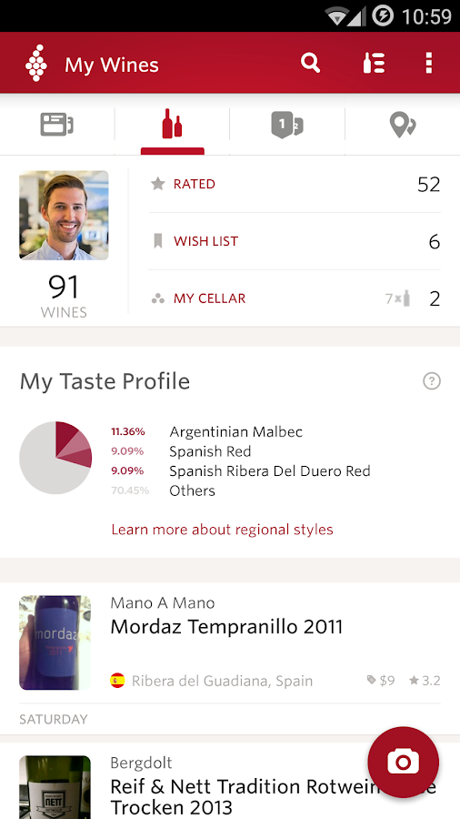 Vivino Wine Scanner Screenshot 6