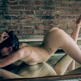 Reflections by James Wayne - Nudes & Boudoir Boudoir ( mirror, implied nude, implied nudity, nude, boudoir, modeling, art, 2016, art model )