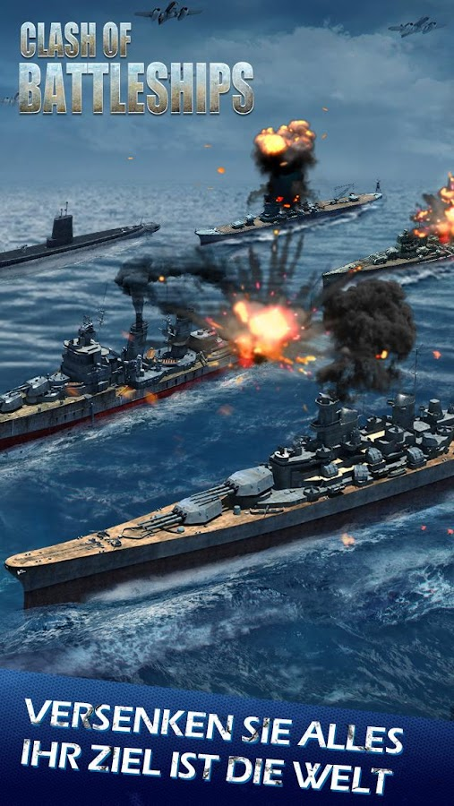 Clash of Battleships - Deutsch Screenshot 4
