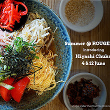 Summer ramen @ROUGE-shop