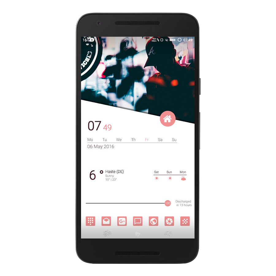 MatErialZ for KLWP Screenshot 1