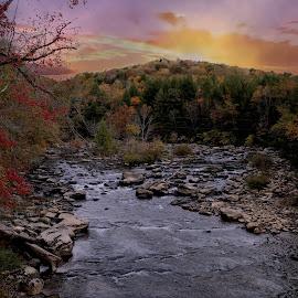 by Julius Wiggins - Landscapes Sunsets & Sunrises