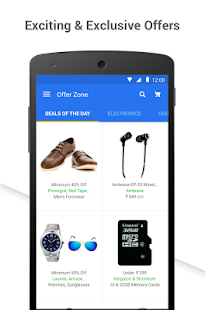 Flipkart Online Shopping for Lollipop - Android 5.0