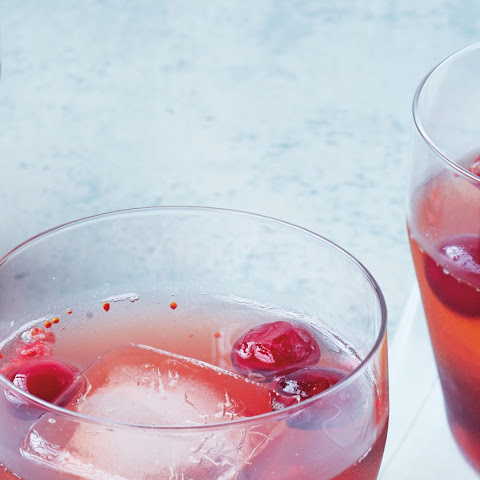 Bourbon-Cranberry Shrub