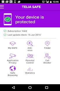 Telia SAFE Eesti - screenshot