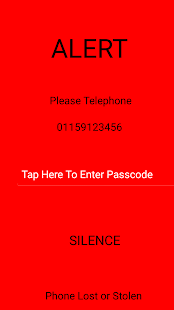Silent Phone Locator - screenshot