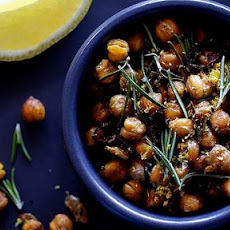 Oven-roasted Spicy Chickpeas
