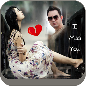 Miss You Photo Frame Editor