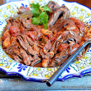 Slow Cooked Cuban Skirt Steak