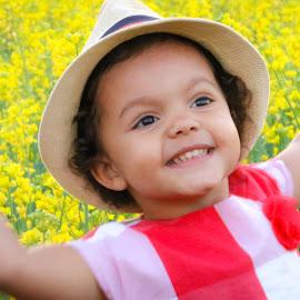 Happy Girl by Kathy Suttles - Babies & Children Children Candids