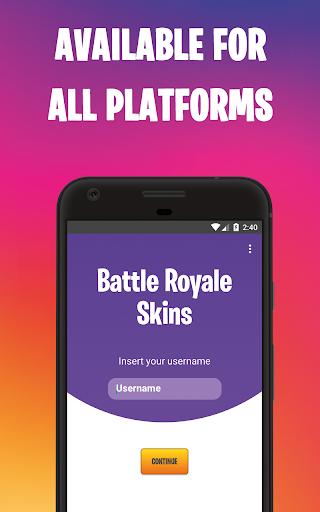 Skins Battle Royale - Free Skins daily screenshot 1