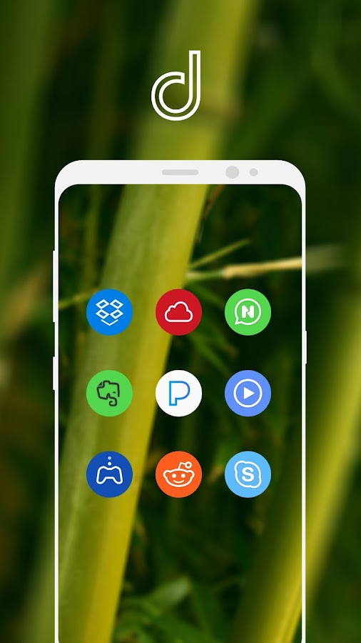 Delux UX Pixel - S8 Icon pack Screenshot 4