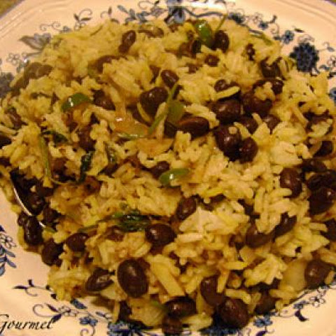 Easy Black Beans and Rice!!!