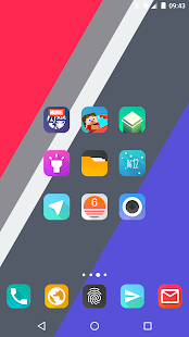 Aurora UI Square - Icon Pack- screenshot thumbnail