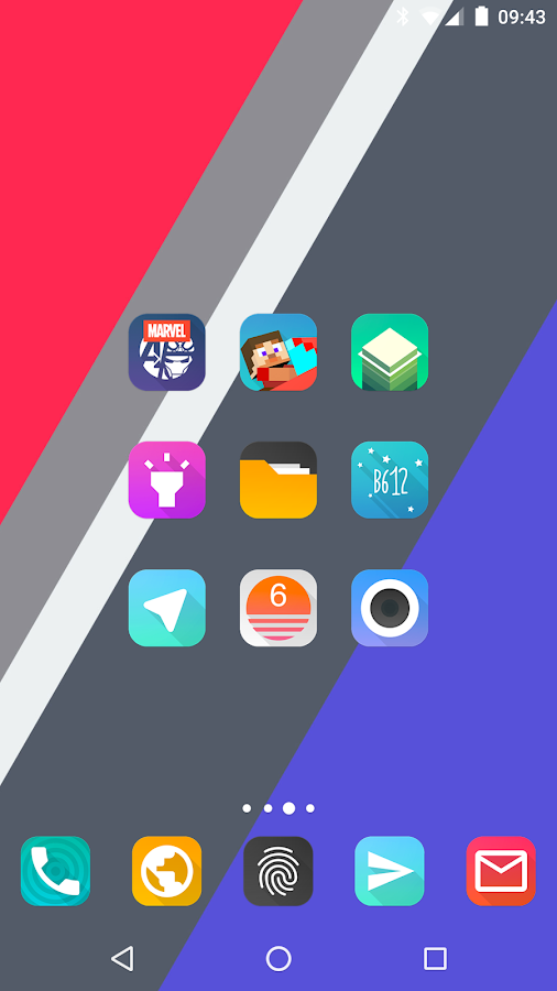 Aurora UI Square - Icon Pack Screenshot 3