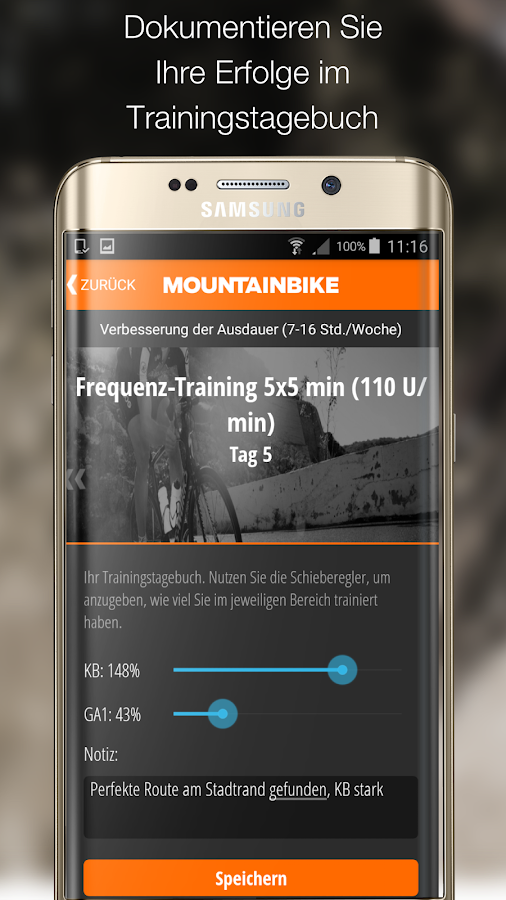 MOUNTAINBIKE Trainer Screenshot 2