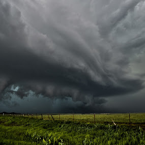 Oklahoma where the wind comes sweeping down the plains by Sean Miller - Landscapes Weather