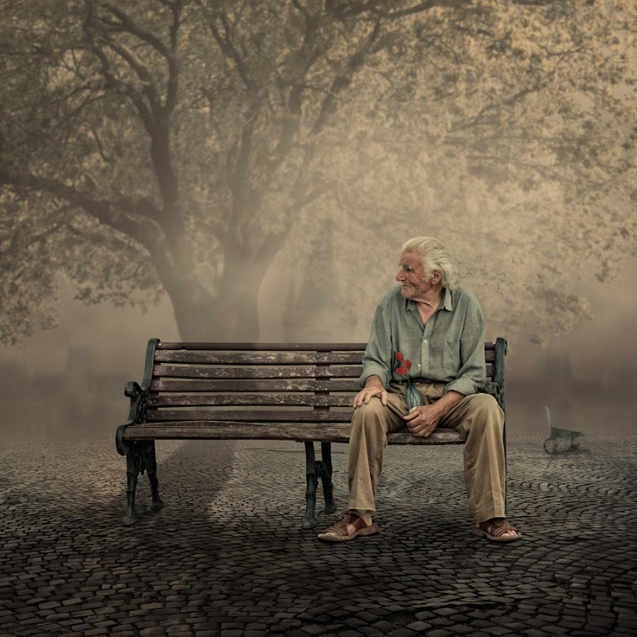The old fashion lover by Caras Ionut - Digital Art People ( manipulation, photoshop )