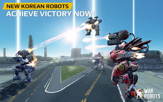 Walking War Robots apk screenshot