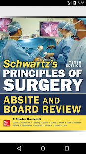 Schwartz's ABSITE Review, 10/E screenshot for Android