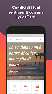 Musixmatch - Testi di Canzoni Screenshot