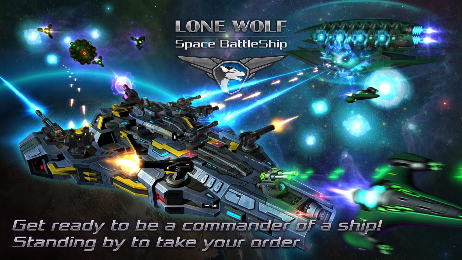 Battleship Lonewolf - Space TD Screenshot 0