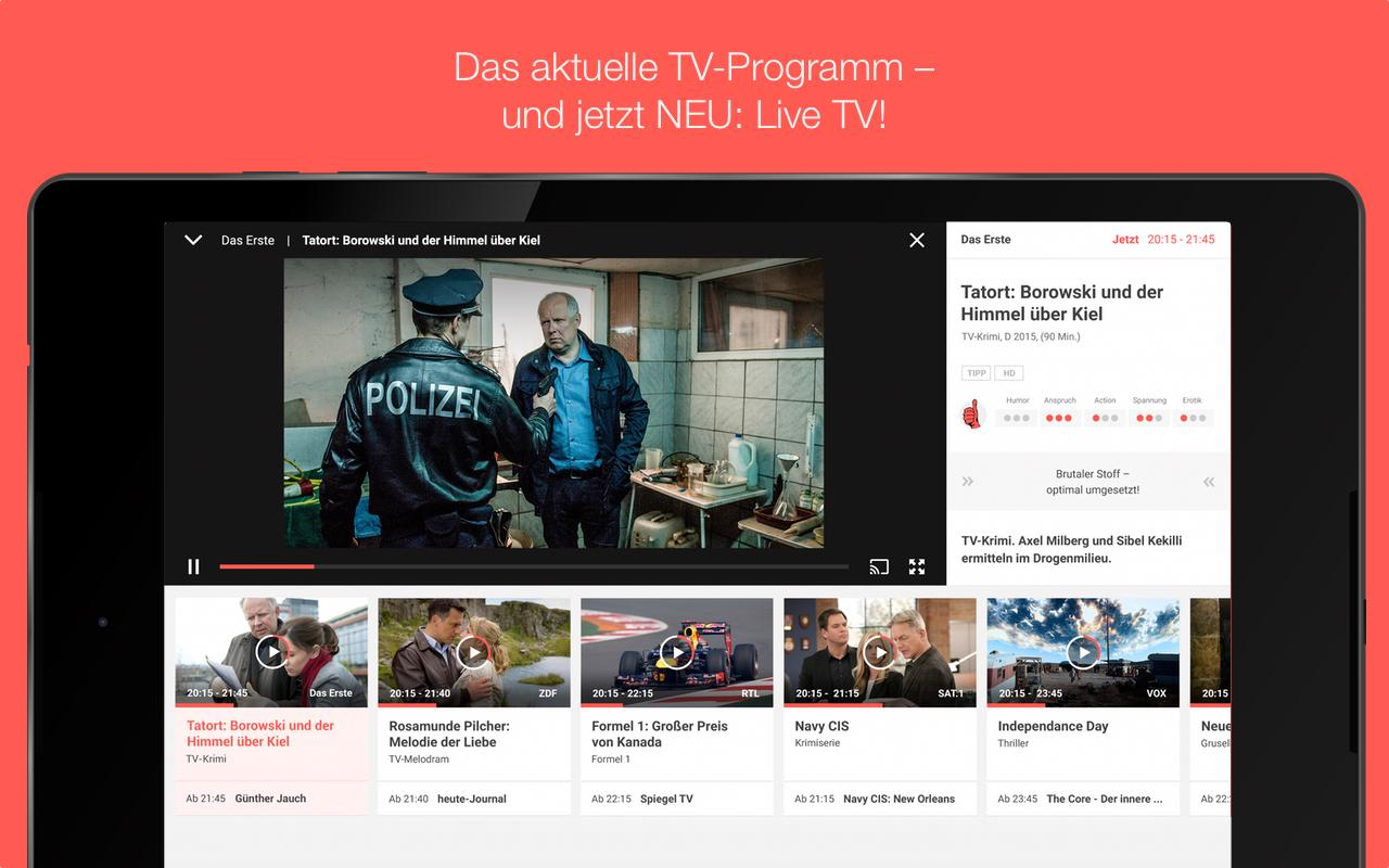 TV SPIELFILM - TV Programm Screenshot 5
