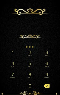 App Gold Diamond CM Security Theme apk for kindle fire