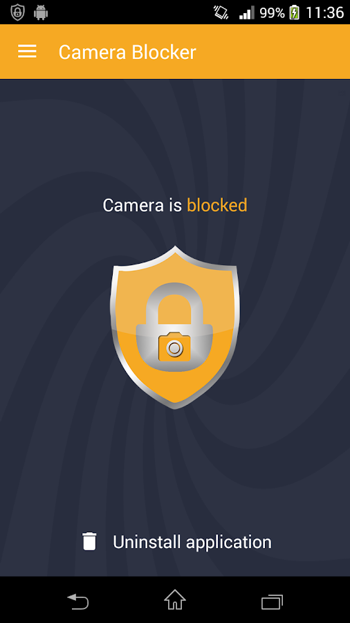 Camera Blocker - Anti Spyware Screenshot 1