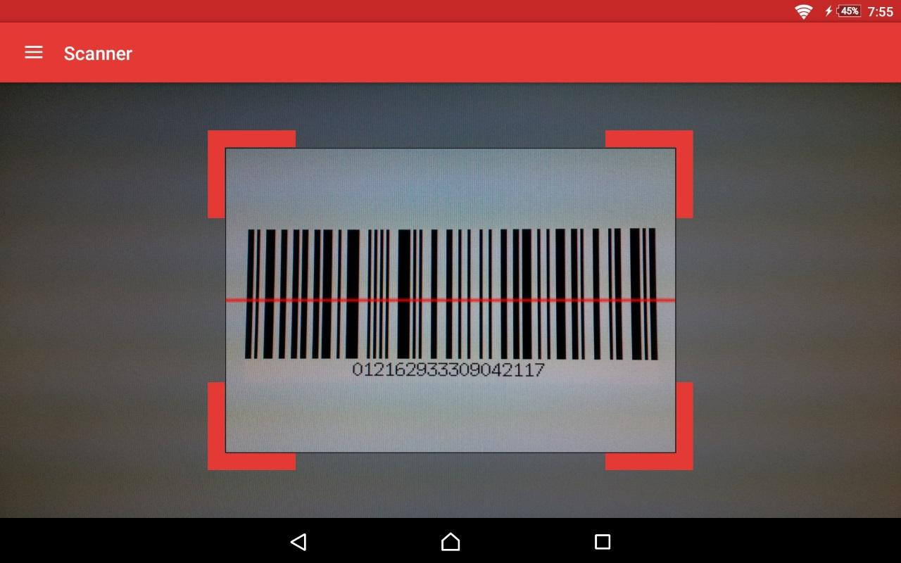 ScanDroid code scanner (PRO) Screenshot 14