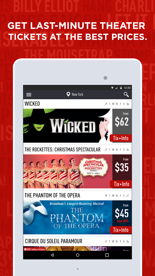 TodayTix – Theater Tickets Screenshot 6