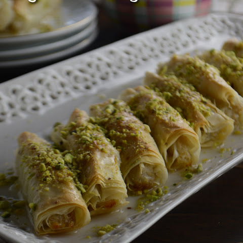 Phyllo Ashta Fingers