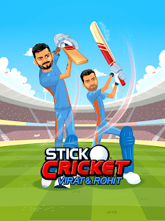 Stick Cricket Virat & Rohit Screenshot