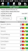 Screenshot of Safety-Reports