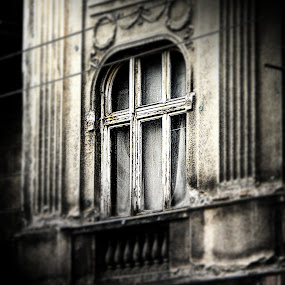 window detail by Vesna S. Disić - Artistic Objects Other Objects ( detail, monochrome, window, day, architecture )