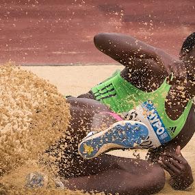 Long Jump by Horizon Photo - Sports & Fitness Other Sports ( athletics, long jump, götzis )