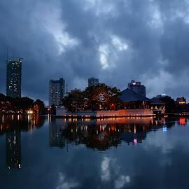by Sarath Sankar - City,  Street & Park  Night