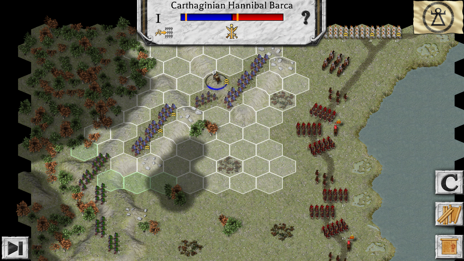 Battles of the Ancient World Screenshot 4