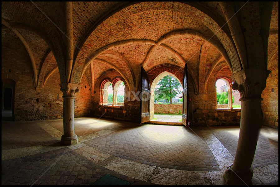 San Galgano by Marco Caciolli - Buildings & Architecture Other Interior ( interior, church, buildings, monument, san galgano, italy )