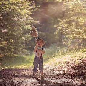 Walk by Danuta Czapka - Babies & Children Child Portraits ( children portrait, child photography, childhood, baby boy, children photographer,  )
