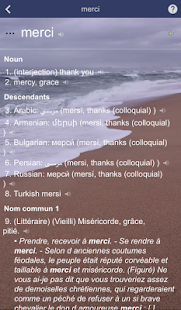 FineVoca Dictionary - screenshot