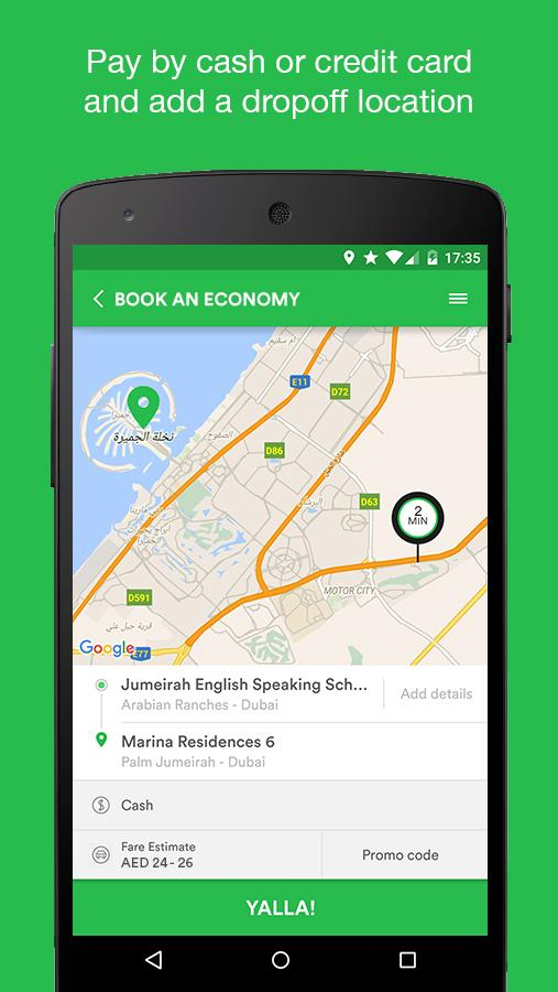 Careem - Car Booking App Screenshot 2