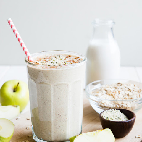 Apple n' Oats Breakfast Smoothie
